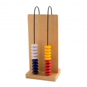 ABACUS,  2 ROWS