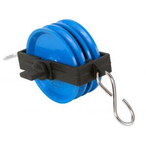 Arco Plastic Pulley Blocks,Deluxe,Double,38mm & 50 mm