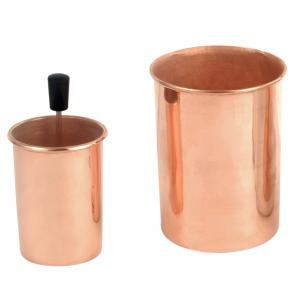 Calorimeter Copper, 100x75mm (hxdia)