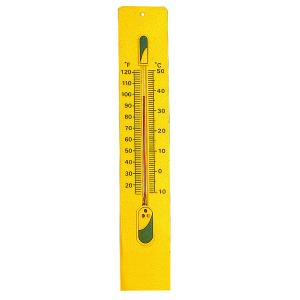 Arco Thermometer-Yellow Plastic Sheet