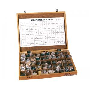 Rocks Collection, Set/50, Wooden Tray