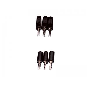 BANANA PLUGS-BLACK