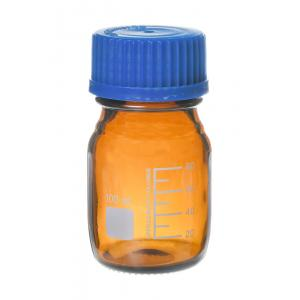 Arco Reagent Bottle, Borosilicate 3.3, Amber Color, With Screw Cap, Capacity - 100ml