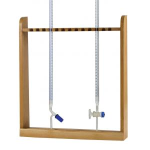 BURETTE RACK-VERTICAL,WOODEN