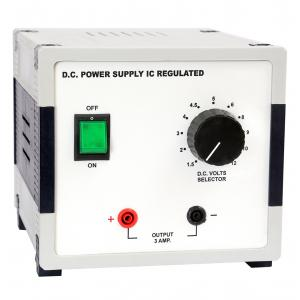 DC Power Supply, IC Regulated