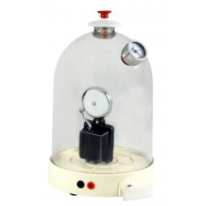 Arco Bell Jar With Vacuum Pump & Electric Bell, Hand Operated