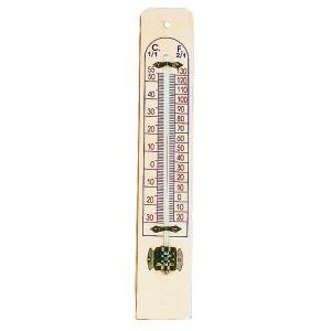 Arco Thermometer-Wooden Frame