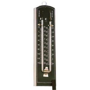 Arco Thermometer-Six'S Without Shade Black Background