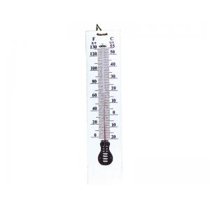 Arco Thermometer Wall-White Plastic Sheet