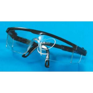 Safety Goggles, Clear Plastic, L Shape
