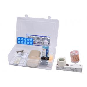 First Aid Kit for 1 Persons in Plastic Box